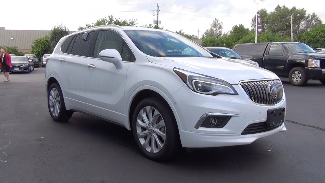demo 2017 buick envision awd 4dr premium ii summit white youtube. Black Bedroom Furniture Sets. Home Design Ideas