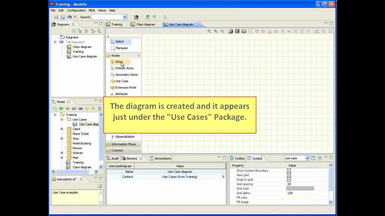 Modelio tips create a uml diagram youtube modelio tips create a uml diagram ccuart Choice Image