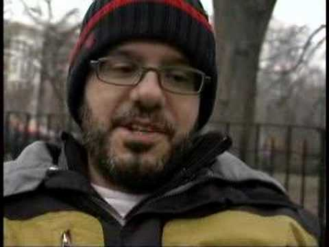 David Cross Interviewed by Music for America Part 1