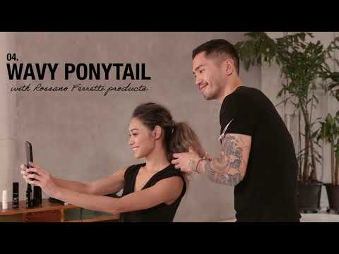 Wavy Ponytail - How To Use Rossano Ferretti products