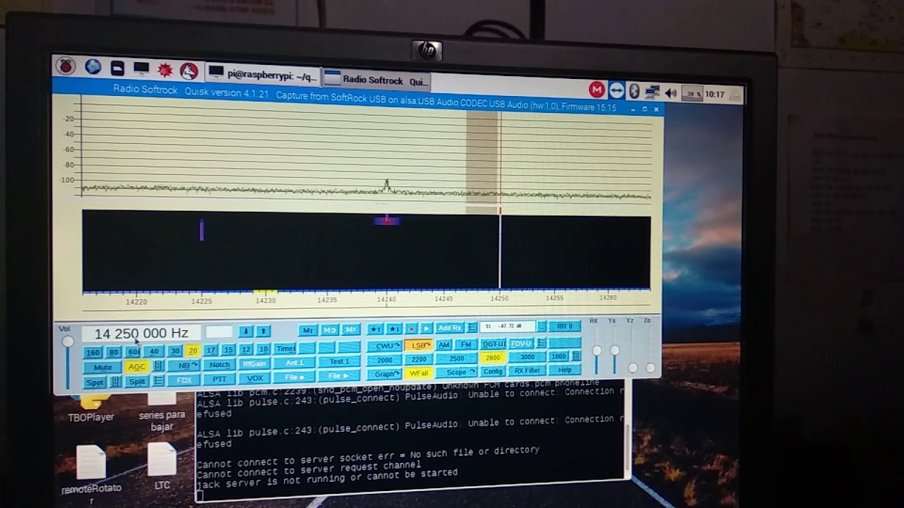 SDR Softrock on Raspberry Pi