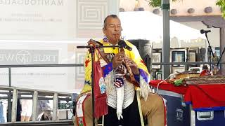 SF INDIAN MARKET 2019 - ROBERT TREE CODY PERFORMS ON SF PLAZA  - Love Song