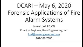 S#3 DCARI Fire Alarm Panels w Jamie Lord