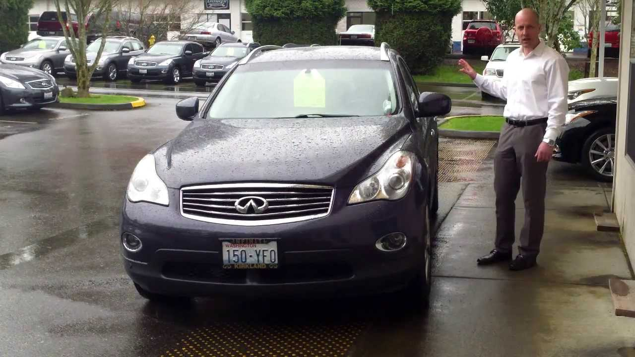 2008 Infiniti Ex35 Awd Review The Amazing G37 Coupe With An Suv Body You