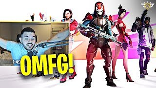 COURAGE REACTS TO SEASON 9 LAUNCH + BATTLE PASS! (Fortnite: Battle Royale)