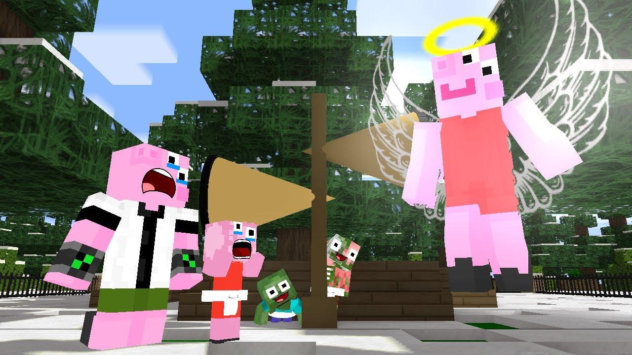 SIREN HEAD ATTACK PEPPA PIG -  (Sad and Funny) Monster School Animation