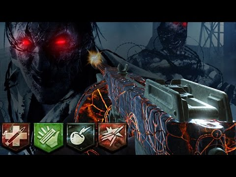 "Mob of the Dead SOLO Easter Egg! ""RED EYED ZOMBIES"" (Gorod Kovi Storyline Links) DLC #3 HYPE!"