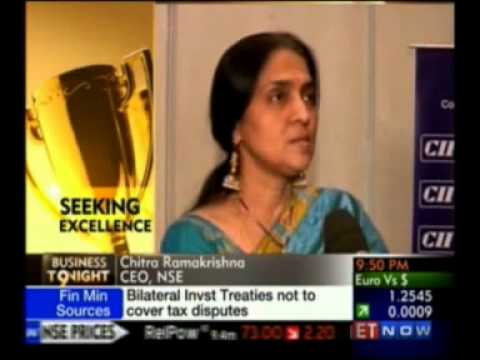 Chitra Ramkrishna, MD & CEO of NSE - Interviewed by ET Now