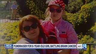 Fire departments hold fundraiser for girl fighting cancer