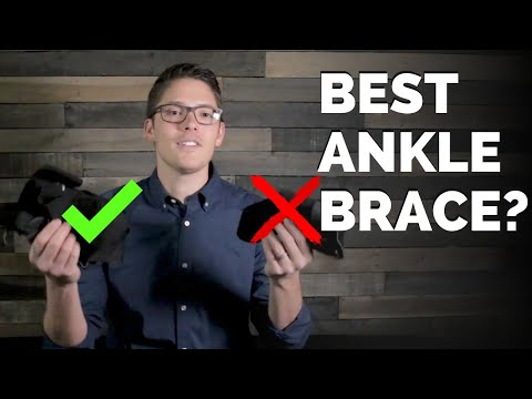 Top 3 Ankle Braces for Ankle Sprains | Physical Therapist Review