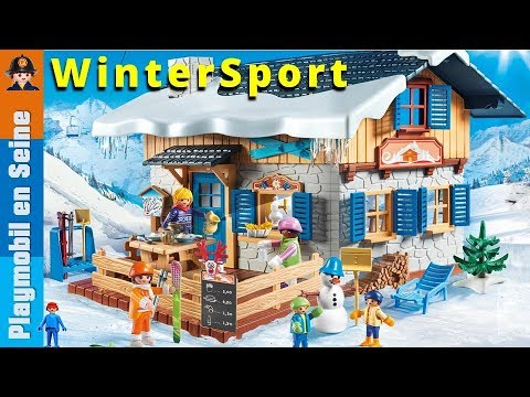 playmobil sport d 39 hiver 2018 4k youtube. Black Bedroom Furniture Sets. Home Design Ideas