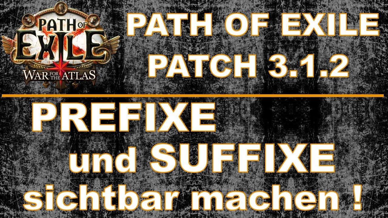 Path of Exile Patch 3 1 2 - weitere Infos zu den Mods [ deutsch / german ]