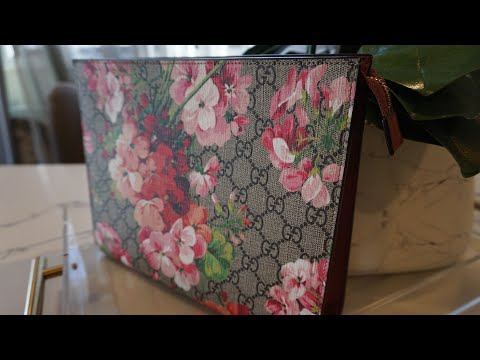 GUCCI - GG BLOOMS LARGE COSMETIC CASE | WIMB | What Fits