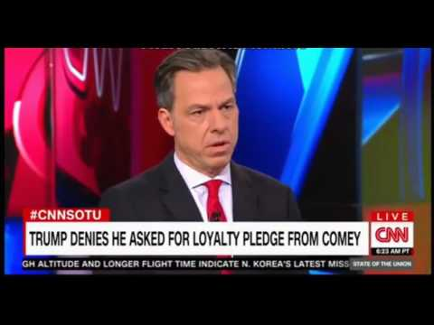 Jake Tapper one on one with James Clapper did the willy general give anything away