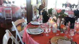 Willowstone Catering - Brittany & Ryan's Wedding, June 22, 2013 (table Decor & Buffet)