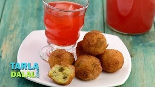 Corn, Cheese And Jalapeno Balls By Tarla Dalal