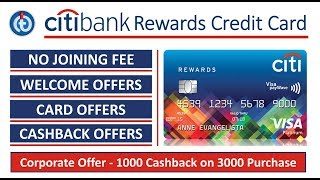 Citibank Rewards Credit Card | Loads of Benefits and Offers