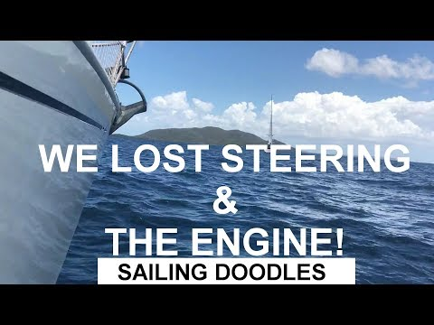 WE LOST STEERING AND THE ENGINE AT SEA! - Boat Maintenance Monday