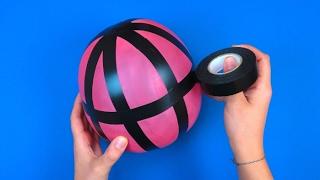 Gli usi alternativi di un palloncino: ecco i trucchi che non conoscevi