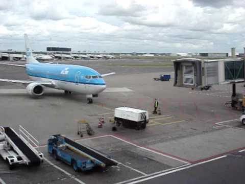 Airplanes and Airports in Germany and Holland