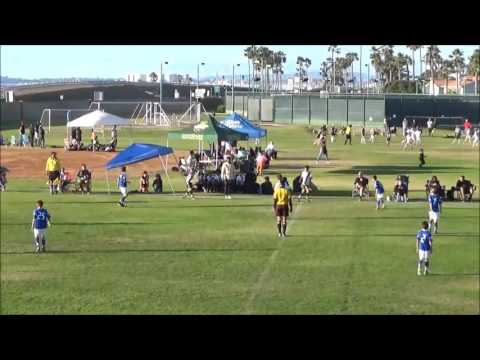2016 Coronado Holiday Cup SEH Matrix Elite B04 vs LA Galaxy SD Elite Final