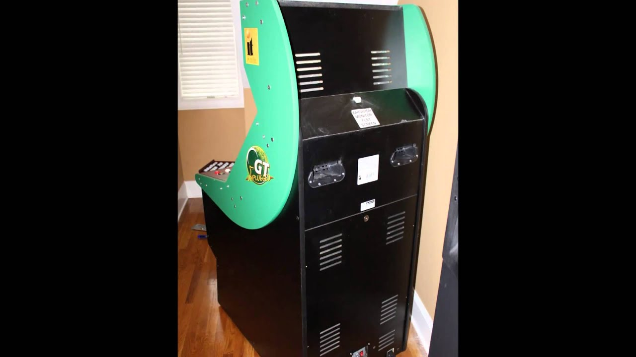 Golden Tee Cabinet 2009 Golden Tee Unplugged Arcade Machine Ready To Make Your