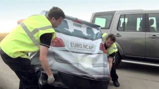 Euro NCAP Testing Crash Avoidance Systems - on the Road with AEB