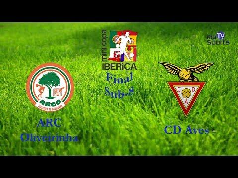 Arc Oliveirinha X Cd Aves Final Sub 8 Mini Copa Ibérica 2017