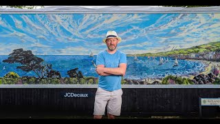David Downes - Mural for ITV