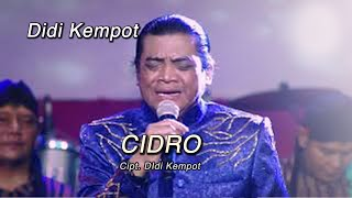 Gambar cover Didi Kempot - Cidro ( Official Music Video )