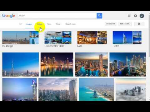 How to download large size images from google - YouTube