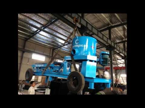 40TPH Alluvial placer gold recovery processing plant