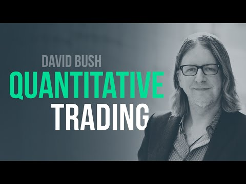 From discretionary trader to quantitative trader w/ David Bush, Alphatative