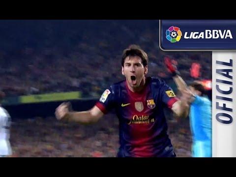 El Clásico 2012/2013: Gol de Messi (1-1)