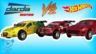 Cars for Kids Toys Darda Track Slow Motion Unboxing Educational Video for children #4k #kids #cars