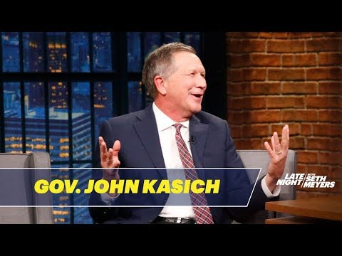 Governor John Kasich Doesn