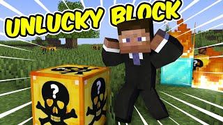 Minecraft Lucky Block men alla är SUPER UNLUCKY!