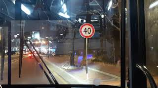 남산 순환버스02버 하이거 하이퍼스11L EV(교육연구…