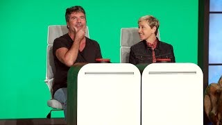 "Simon Cowell is an expert at finding talent, but Ellen found out that Simon Cowell isn't the best at following instructions. Watch as the ""America's Got Talent"" ..."