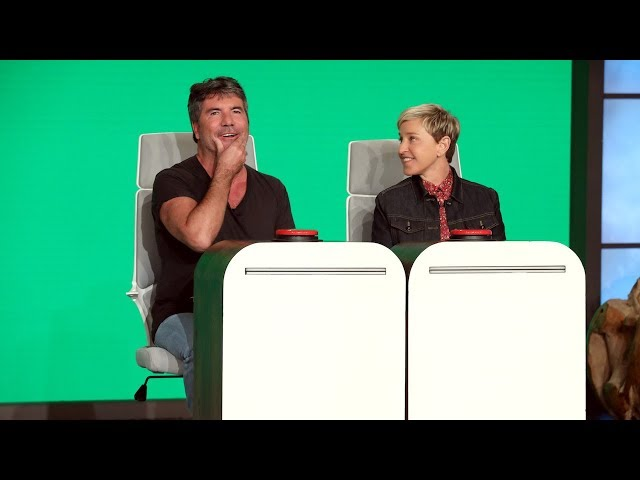 Simon Cowell Doesn't Understand How to Play 'Burning Questions'