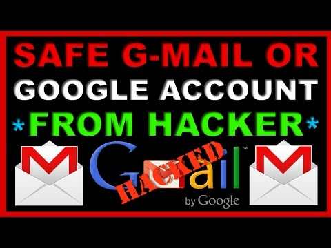 How to Safe or Secure & Protect Gmail or Google Account from Hacker