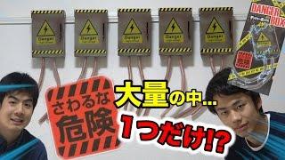 さわるな危険!デンジャーボックスがたくさんあったら感電不可避!?