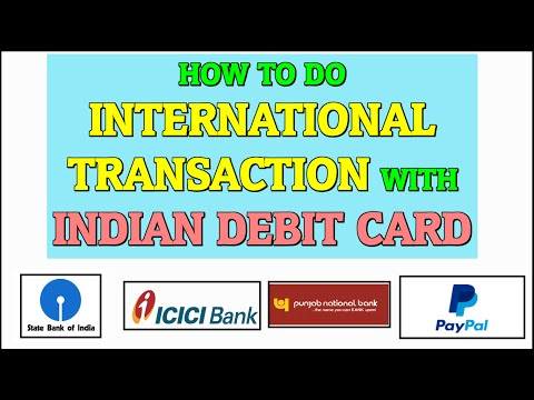 How To Do International Transactions With Indian Debit Cards Sbi Axis Bank Icici Hdfc Et