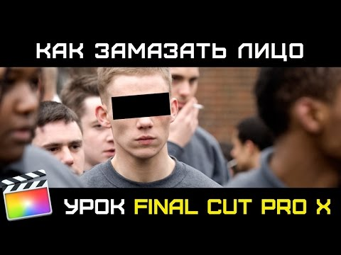 ЭФФЕКТ ЦЕНЗОР (Censor Effect) в Final Cut Pro X. Как замазать лицо или номер машины в FInal Cut