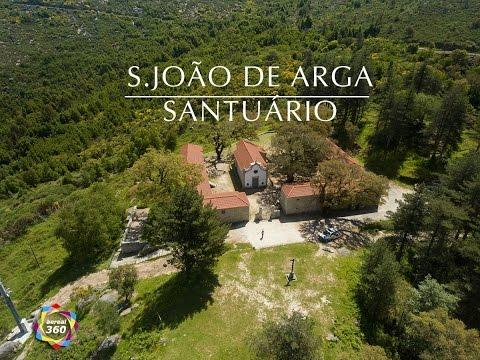 Mosteiro de S.João de Arga  4K Ultra HD