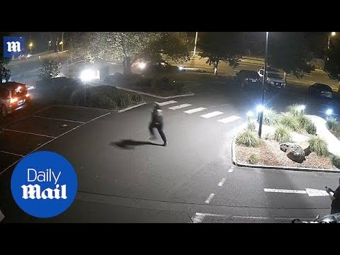 CCTV vision shows the moments after Melbourne crash kills couple - Daily Mail