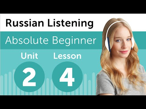 Russian Listening Comprehension - Baking a Cake in Russia