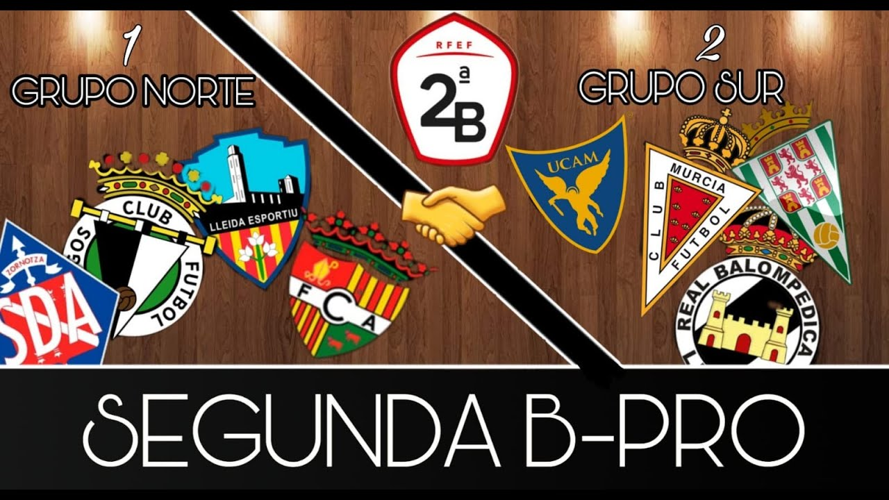 Segunda Division B Tabelle