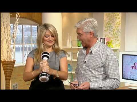 Holly Willoughby - This Morning - Shaking Dumbbell