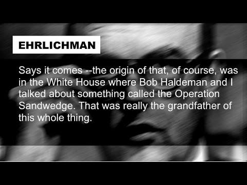 Nixon Ehrlichman Haldeman Talk John Mitchell's Watergate Involvement April 14 1973